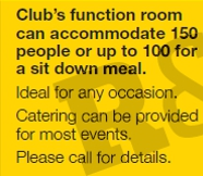 Information on our function room